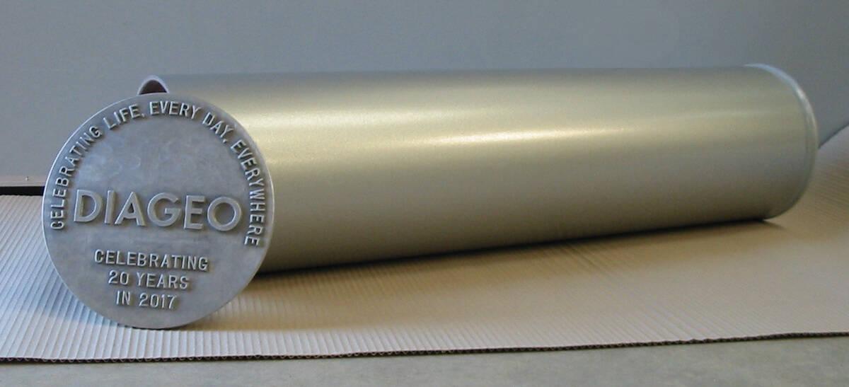Diageo extra large composite time capsule