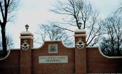 RAF cranwell wall crests