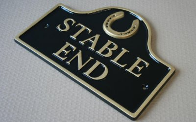 Stable House Sign
